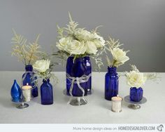 Royal blue venue Decoration