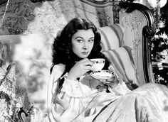"""@:  Miss Scarlett in a calmer moment...but her eyes and mouth surely look like she is planning...    I just got my British tea in the mail today! Yay! I have Earl Grey, English Breakfast and a few others.   """"British tea"""" lmfao Reblogging this for Scarlett. 3"""