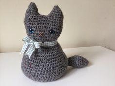 Crochet Moggy Cat - Free Pattern
