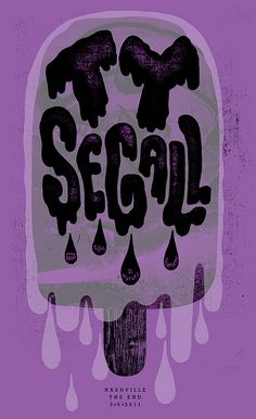 ty segall poster by theywillseeme, via Flickr