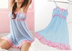 Hot Women Sexy Lingerie Lace Babydoll Sleepwear Beauty +g-string