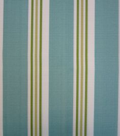 Outdoor Fabric-Solarium Manzi Stripe Seaspray at Joann.com