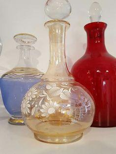 Carafe antigua en cristal tallado. #antiguedades #cristaleriaantigua #madrid #brocante #masphere