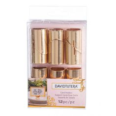 Purchase the David Tutera™ Gold Place Card Holders at Michaels.com. Let your wedding guests know where they have to sit with these charming place card holders from David Tutera.