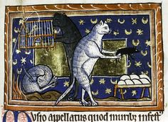 "Cats had their fair share of Medieval names. Gilbert, for some reason, was the colloquial term for domestic cats and also served as a popular cat name in England at the time. Owners often shortened it to ""Gyb."" In France, Tibers or Tibert served as the same catch-all for both cats in general and individual cats' names."