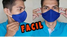 How to make a face mask - Corona Virus Diy Sewing Projects, Sewing Hacks, Sewing Crafts, Diy Mask, Diy Face Mask, Sewing Clothes, Diy Clothes, Crochet Mask, Sewing Lessons