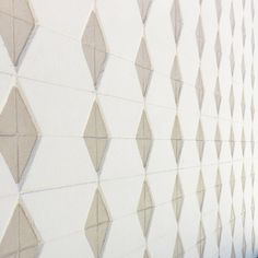Mid century patterned wall.
