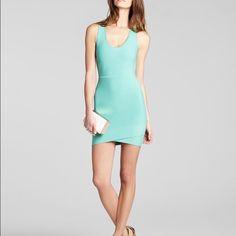 Bcbgmaxazria Bandage Dress Gorgeous mint green Bcbg bandage dress, sz small BCBGMaxAzria Dresses
