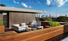 Winner of the 2013 BALA Silver Award for Specialty or Outdoor Room; Parkside Modern, Austin, TX; Architect: Alterstudio Architecture; Builder: RisherMartin Fine Homes; downtown skyline, natural beauty, natural materials, modern fixtures and appliances, sleek design