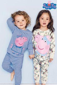 Blue Peppa Pig Pyjamas Two Pack