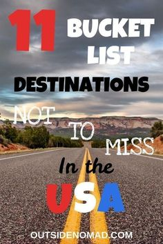 11 Stunning US Road Trip Destinations Not To Miss Are you planning a road trip? Be sure to check out these classic and lesser-known USA travel destinations. These are a must visit in the US. Great for families and easy on the budget. Brisbane, Melbourne, Napa Valley, Travel With Kids, Family Travel, Family Trips, Best Vacations With Kids, Cool Places To Visit, Places To Travel