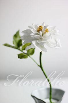 Wafer Paper Rose | Floralilie Sugar Art