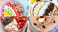 6 smoothies you can with a spoon (made with fresh fruit, chia seeds, granola, and nuts!) #smoothie #healthyrecipes | everydayhealth.com