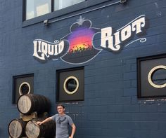 Cheers to our Liquid Riot brethren always a good time!  #brewery #liquidriot