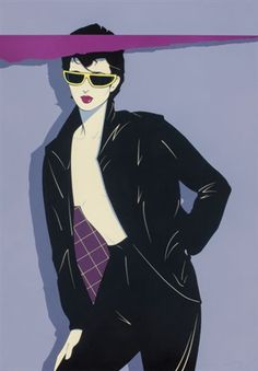 View Sunglasses and Leather by Patrick Nagel on artnet. Browse upcoming and past auction lots by Patrick Nagel. Patrick Nagel, Marcel Duchamp, Pinup Art, Retro Art, Vintage Art, Nagel Tattoo, Nagel Art, Poster Print, Retro Futurism