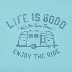 Women's Enjoy Airstream Crusher Tee|Life is good
