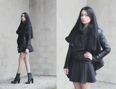Magdalena M - Dressvenus Jacket, Choies Skirt - Sewater Weather