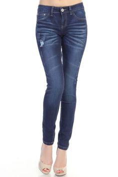 117 Classic Skinny Jeans