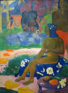 Vaïraumati tei oa (Vaïraumati elle se nommait) (1892), Paul Gauguin - Collection Chtchoukine, Fondation Vuitton, Paris XVIe
