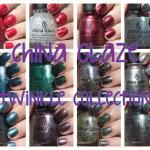 China Glaze Twinkle Collection! PICTURE HEAVY