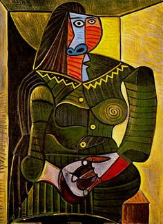 Pablo Picasso Woman In Green, 1943