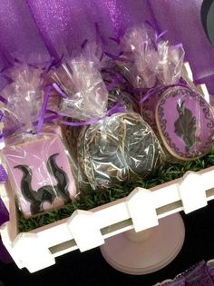 Cookies at a Maleficent birthday party!