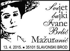 Sonderstempel Kroatien Mazuranic Kinderbuch
