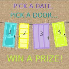 Have Challenged myself to book 5 Origami Owl Parties by the end of this week! We can do a catalog party or party online Facebook Style! It really is so easy! So pick a date, pick a door and WIN a prize!