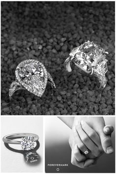 Celebrate your everlasting love with a Forevermark diamond engagement ring. Less than 1% of the world's diamonds meet the strict criteria required of a Forevermark diamond. Each one is responsibly sourced and hand selected by master craftsmen for its beauty. Find your perfect engagement ring with Forevermark.
