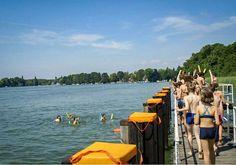 Alle zum Baden an den See! Deutsch lernen + Spaß haben :: Ein Sommercamp für Kinder 7 bis 14 Jahre in Berlin Schmöckwitz / Kinderkurse in Deutschland