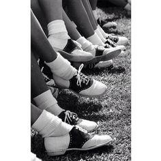 1950s Saddle Shoes