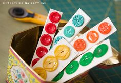 Heather Bailey studio.- luv the colors... red, turquoise, orange, green, yellow