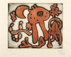 joan miro - composition, 1947