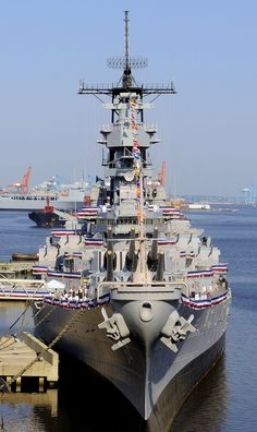 https://flic.kr/p/9ok2L9 | Wanted: Our own West coast Battleship | A US Navy Photo This is the East coast's IOWA-class battleship museum, the USS Wisconsin (BB-64); the East coast also has the USS New Jersey (BB-62)! The state of Hawaii has the USS Missouri (BB-63)... There are NO battleship museums on the West coast... (even though the USS IOWA BB-61 is mothballed here!).... . . . .Repeat... there are NO Battleship Museums On The West Coast of the U.S.A. . . ....