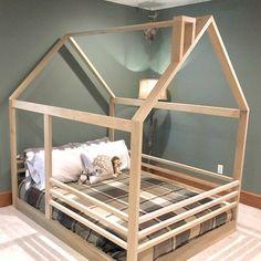 Full Size House Bed Frame Slats Chimney Railing Made In Us