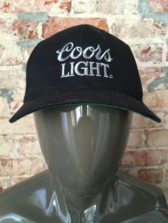 7f81df6618c Vintage Deadstock 90 s Coors Light Beer Snapback Hat by RackRaidersVintage Coors  Light