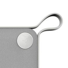 Libratone handle/white/venting/logo/circle/bird/leather/square
