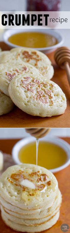 Bring a little bit of England into the kitchen with this Crumpet Recipe - a few simple ingredients are all it takes for this delicious English snack.: