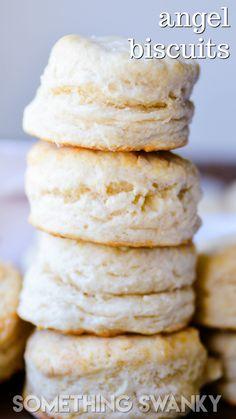 Bride's Biscuits (Angel Biscuits) https://www.somethingswanky.com/brides-biscuits-angel-biscuits/?utm_campaign=coschedule&utm_source=pinterest&utm_medium=Something%20Swanky&utm_content=Bride%27s%20Biscuits%20%28Angel%20Biscuits%29