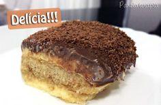 Panelaterapia   Pavê de Maracujá e Chocolate   http://panelaterapia.com