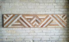 Recuperado arte de pared de madera decoración por EleventyOneStudio