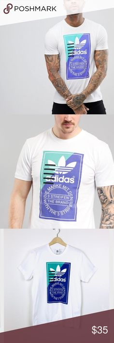 3326db054 adidas Originals Tongue Label Short Sleeve T-Shirt adidas Originals Tongue  Label Short Sleeve T