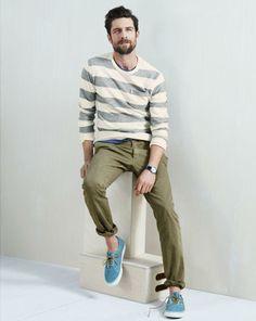 J.Crew lightweight sweatshirt in stripe.