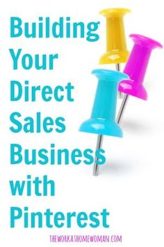Are you looking for new ways to market your direct sales business? Have you tried Pinterest? Here are 4 keys to marketing your business with success on this hot social media site. via The Work at Home Woman