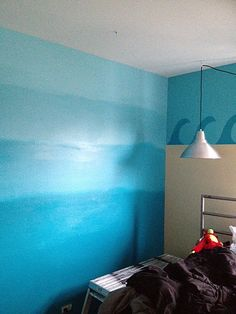 Tween gets an Ocean Themed Room