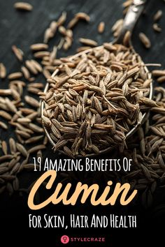 Benefits And Uses Of Cumin (Jeera) For Your Health 19 Amazing Benefits Of Cumin (Jeera) For Skin, Hair And Amazing Benefits Of Cumin (Jeera) For Skin, Hair And Health Home Remedies For Skin, Natural Health Remedies, Herbal Remedies, Cumin Plant, Health Benefits Of Cumin, Diabetic Menu, Sugar Scrub Homemade, Coriander Seeds, Healthy Habits