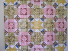Stars in Their Eyes quilt pattern and tutorial from Ludlow Quilt and Sew