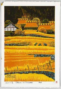 1963 - Kasamatsu, Shiro -  Ohara in Autumn