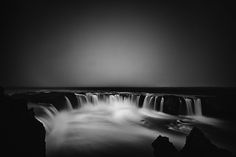 """Black and White landscapes Photography of Iceland by Frodi . These photos say """"Iceland"""" as much as color photos, and with more drama. Landscape Photos, Landscape Photography, Nature Photography, Classic Photography, Photography Ideas, Black And White Landscape, Black N White Images, Black Dark, Photo B"""