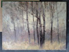 Painting My Way Through Life--Great art blog, Marc R. Hanson. I love his landscapes!